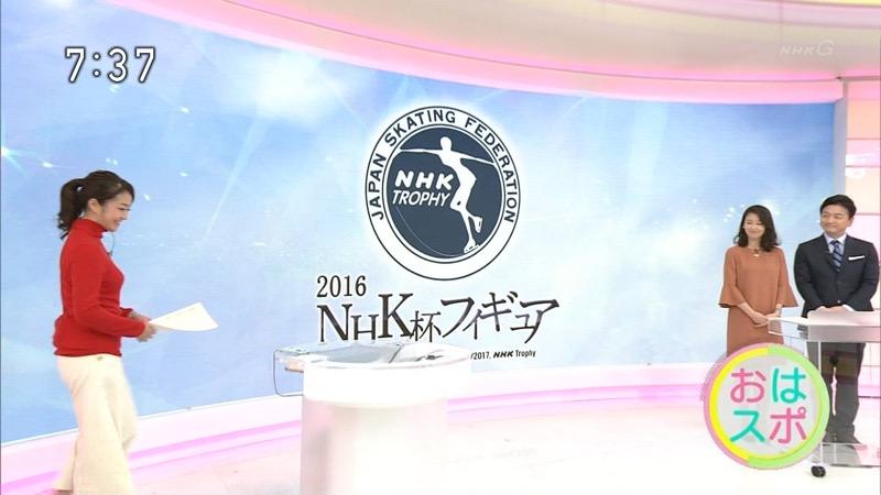 【副島萌生キャプ画像】おっぱいを見るためにNHKを観る人が続出の女子アナ画像 19