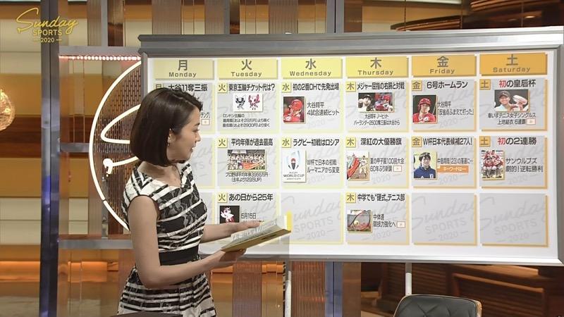 【副島萌生キャプ画像】おっぱいを見るためにNHKを観る人が続出の女子アナ画像 59