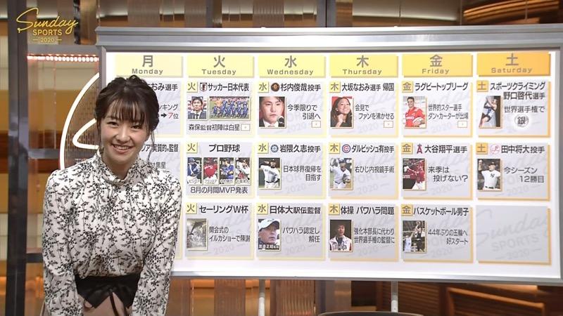 【副島萌生キャプ画像】おっぱいを見るためにNHKを観る人が続出の女子アナ画像 68
