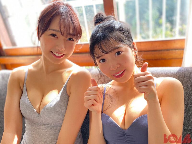 【NMB48エロ画像】グループアイドルって下着姿で絡ませられるのがメリットだよねw