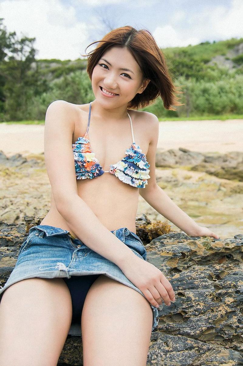 【宮澤佐江グラビア画像】ボーイッシュなショートヘアが似合って可愛い元アイドル! 32