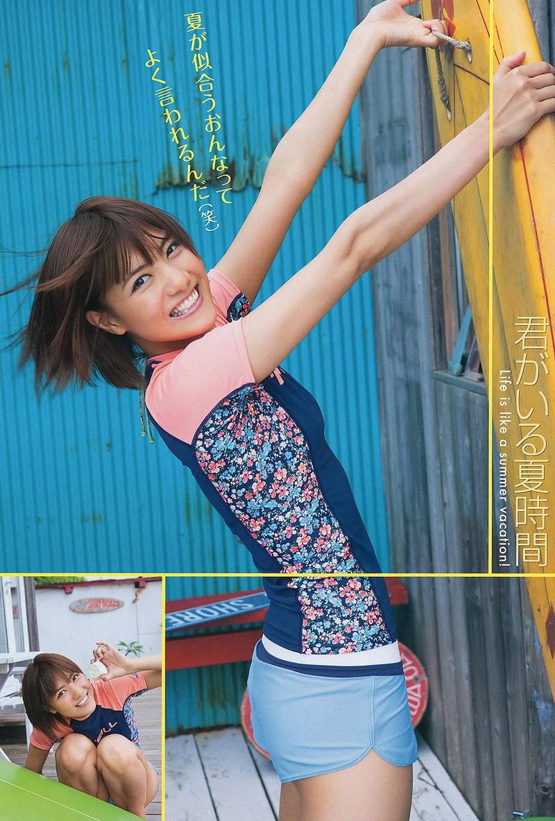 【宮澤佐江グラビア画像】ボーイッシュなショートヘアが似合って可愛い元アイドル! 51