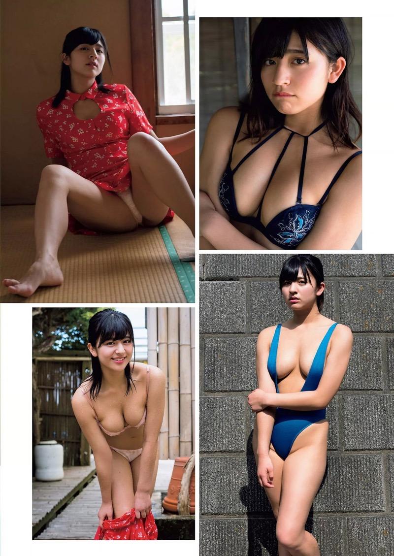 【徳江かなグラビア画像】むっちりしたEカップボディが魅力的なグラビアアイドル 30