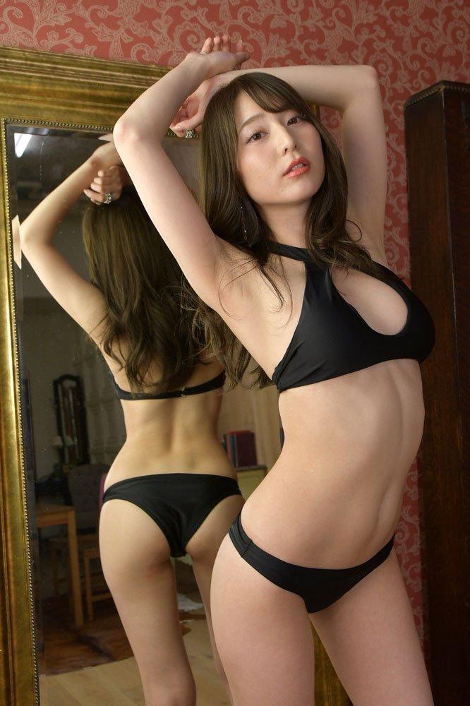 【堀尾実咲グラビア画像】スタイル抜群なスレンダーボディがソソる元RQ美女 03