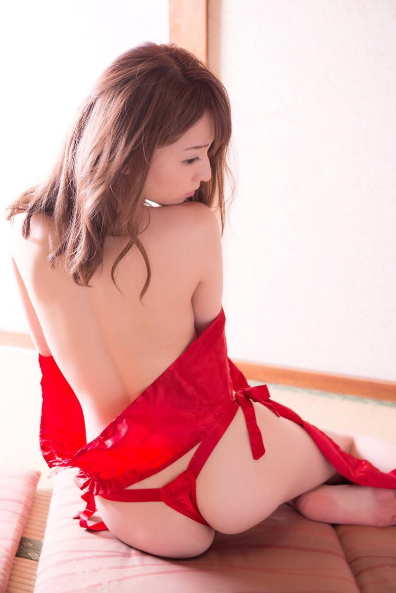【堀尾実咲グラビア画像】スタイル抜群なスレンダーボディがソソる元RQ美女 38