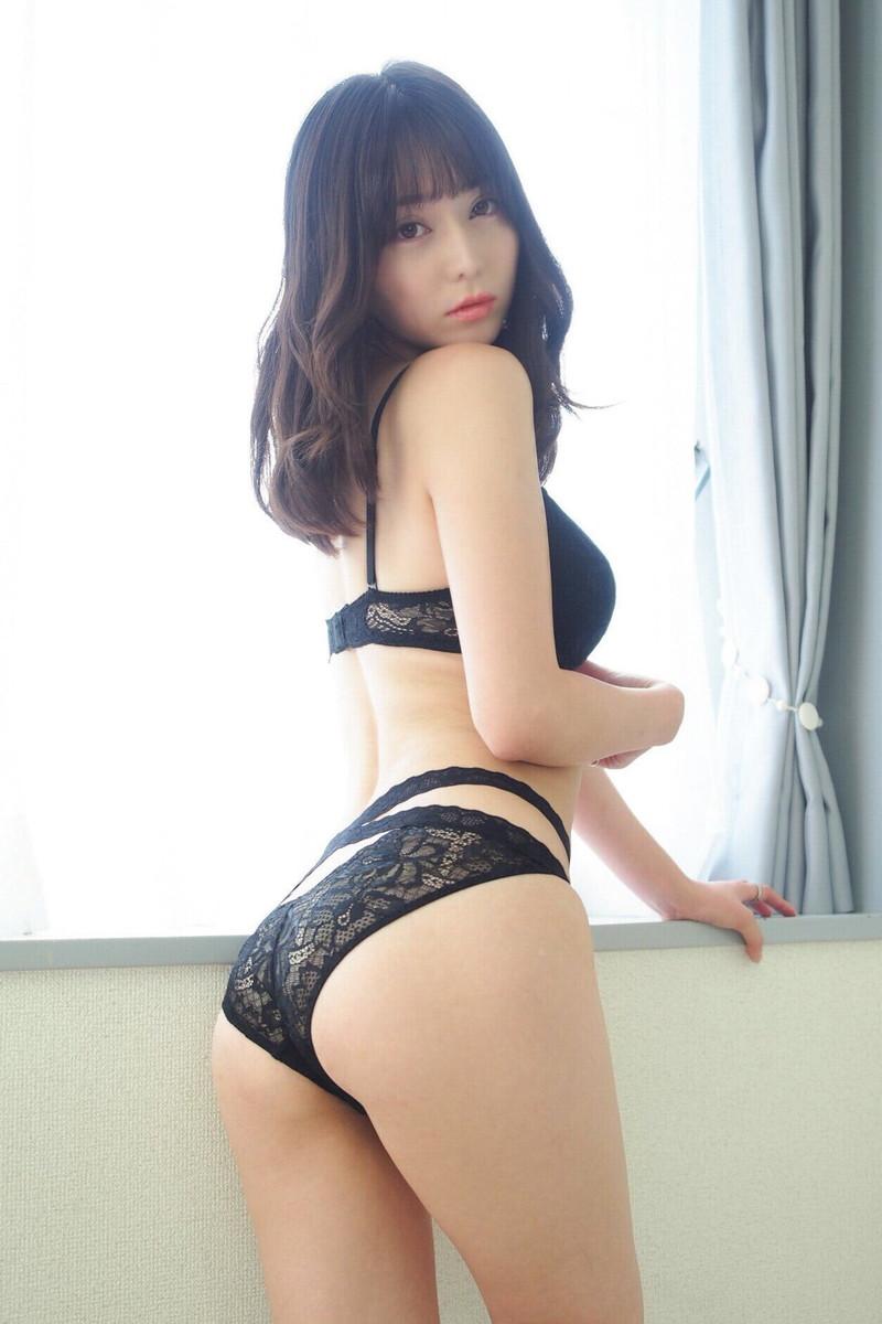 【堀尾実咲グラビア画像】スタイル抜群なスレンダーボディがソソる元RQ美女 48