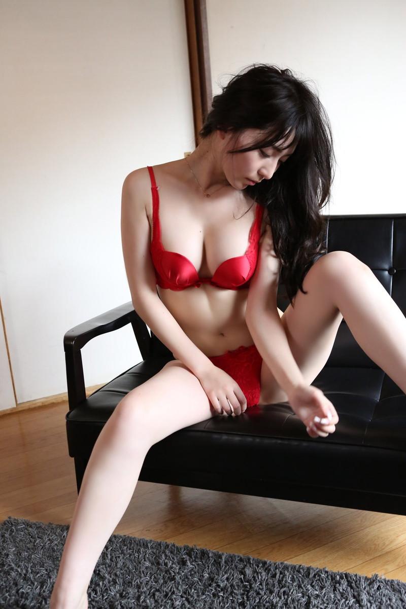【堀尾実咲グラビア画像】スタイル抜群なスレンダーボディがソソる元RQ美女 56
