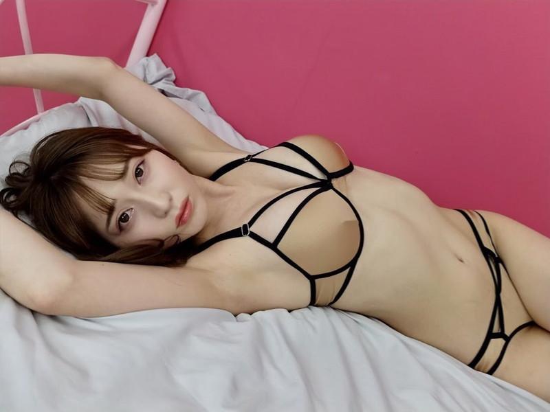 【堀尾実咲グラビア画像】スタイル抜群なスレンダーボディがソソる元RQ美女 75