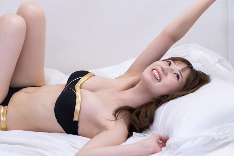 【堀尾実咲グラビア画像】スタイル抜群なスレンダーボディがソソる元RQ美女 76