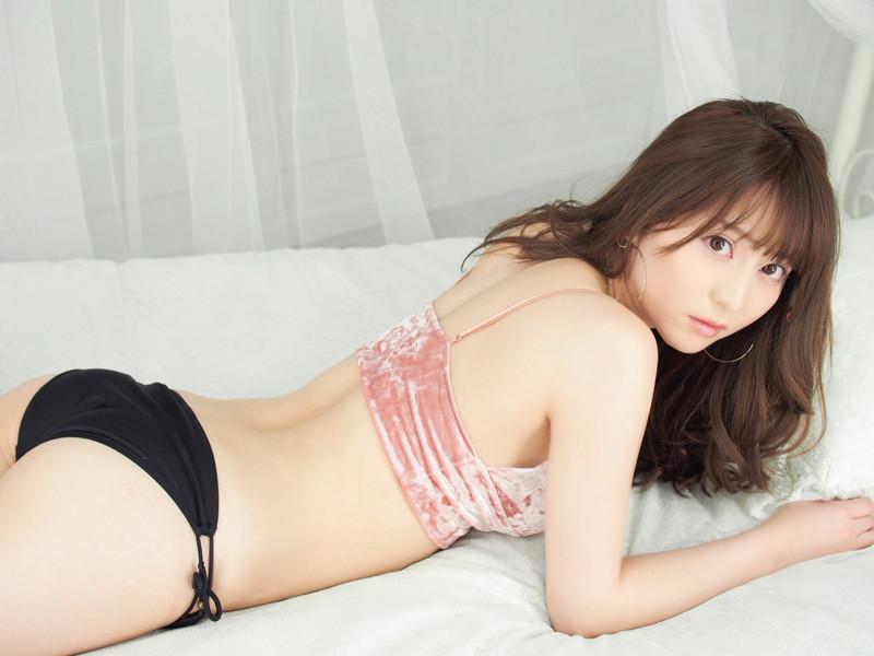 【堀尾実咲グラビア画像】スタイル抜群なスレンダーボディがソソる元RQ美女 80
