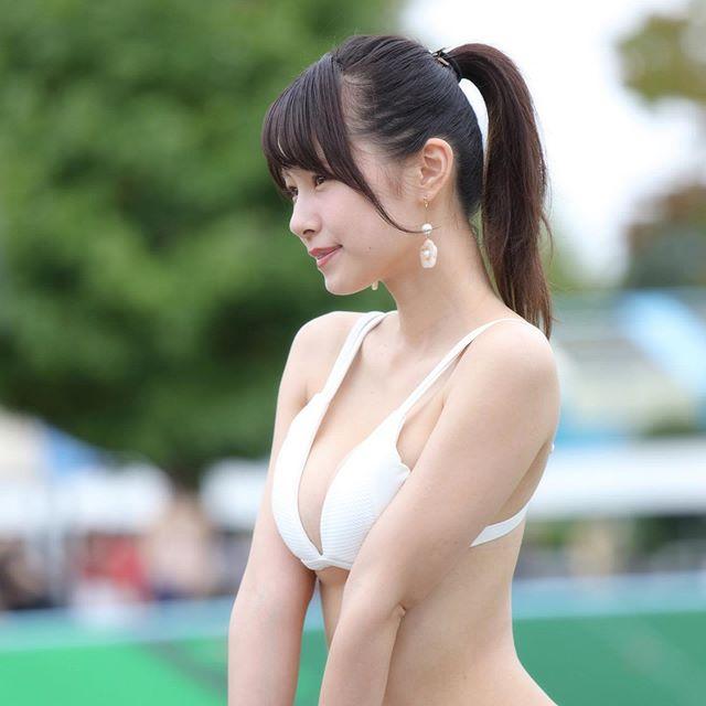 【桜木美涼グラビア画像】SNSで可愛くて大胆なGカップボディを披露している新人グラドル 55