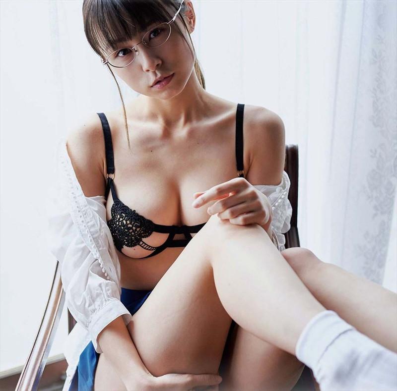 【桜木美涼グラビア画像】SNSで可愛くて大胆なGカップボディを披露している新人グラドル 64