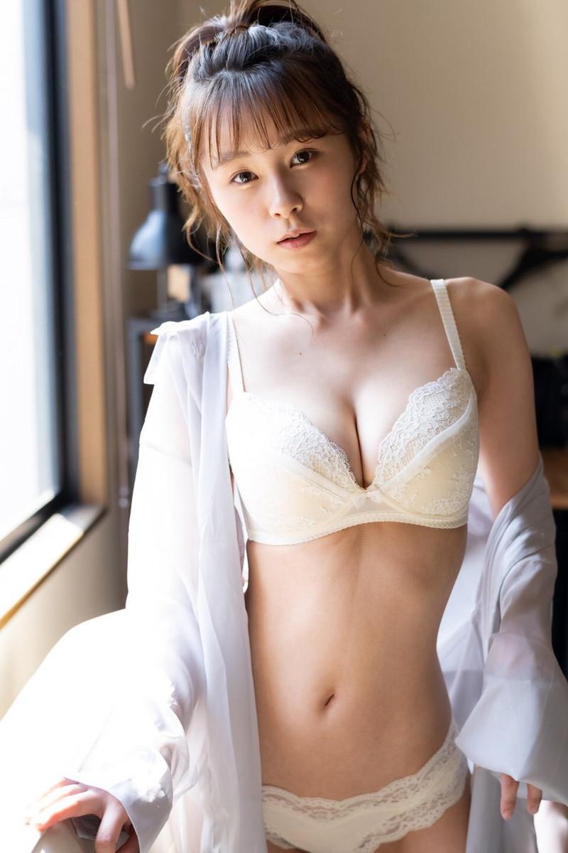 【桜木美涼グラビア画像】SNSで可愛くて大胆なGカップボディを披露している新人グラドル 79