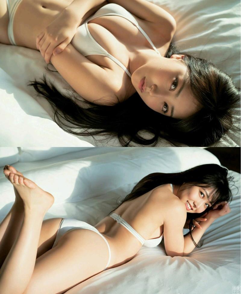 【白間美瑠グラビア画像】オッパイの谷間を大胆に披露している美少女アイドル! 16