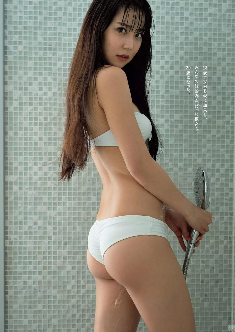【白間美瑠グラビア画像】オッパイの谷間を大胆に披露している美少女アイドル! 50