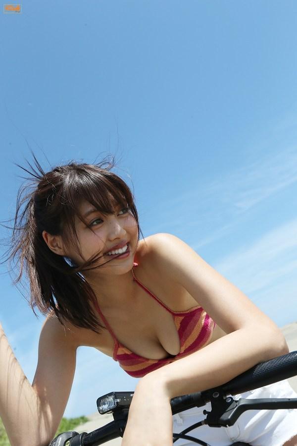 【松元絵里花グラビア画像】水着イメージガールに選ばれた美女はやっぱエロいわw 56