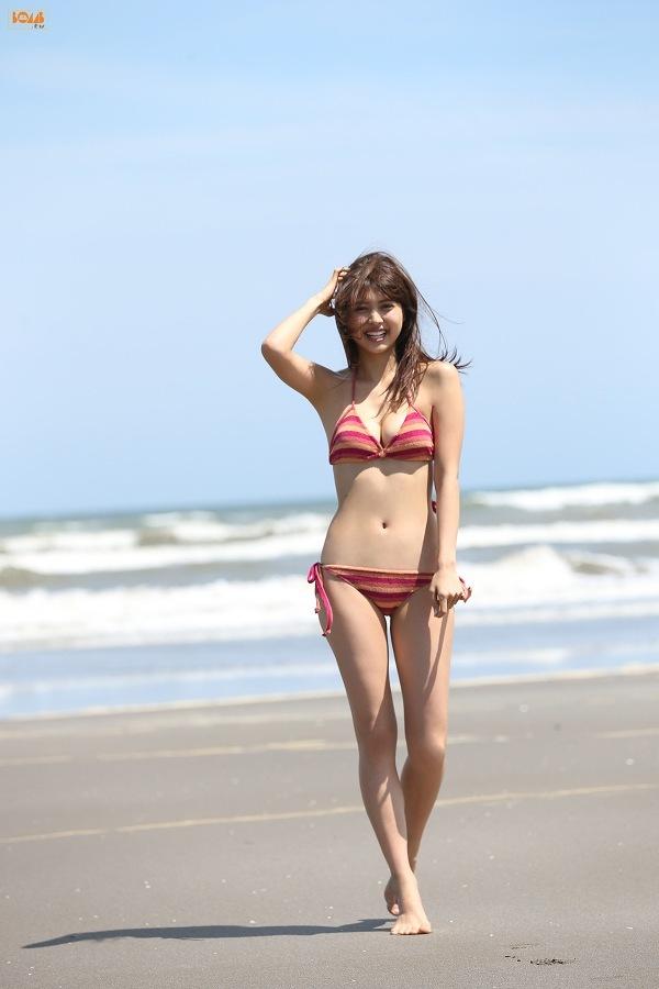 【松元絵里花グラビア画像】水着イメージガールに選ばれた美女はやっぱエロいわw 68