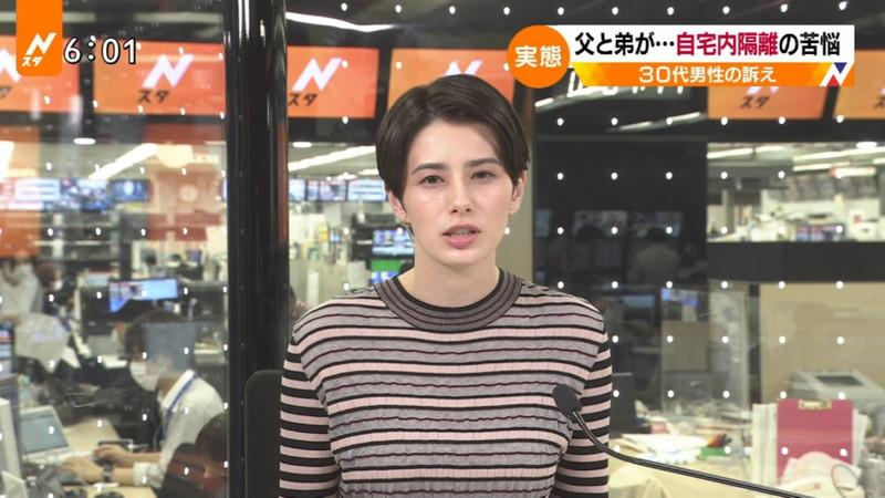 【ホラン千秋キャプ画像】アイルランドハーフ美人キャスターのニット越しオッパイ! 27
