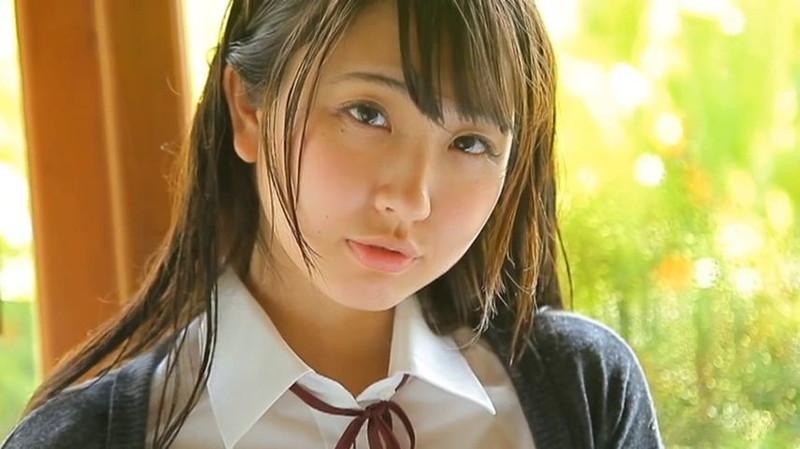 【椎名香奈江エロ画像】Fカップ巨乳を使ったパイアートで目立ちたいグラビアアイドルw 65