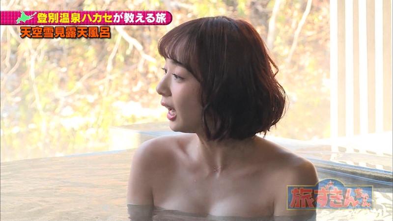 【岡田紗佳キャプ画像】モデル並みの長身ボディがエロい女流プロ雀士