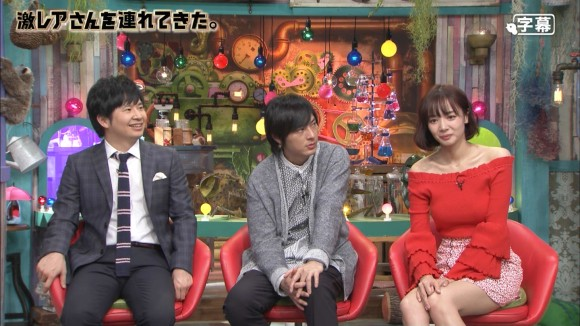 【岡田紗佳キャプ画像】モデル並みの長身ボディがエロい女流プロ雀士 14