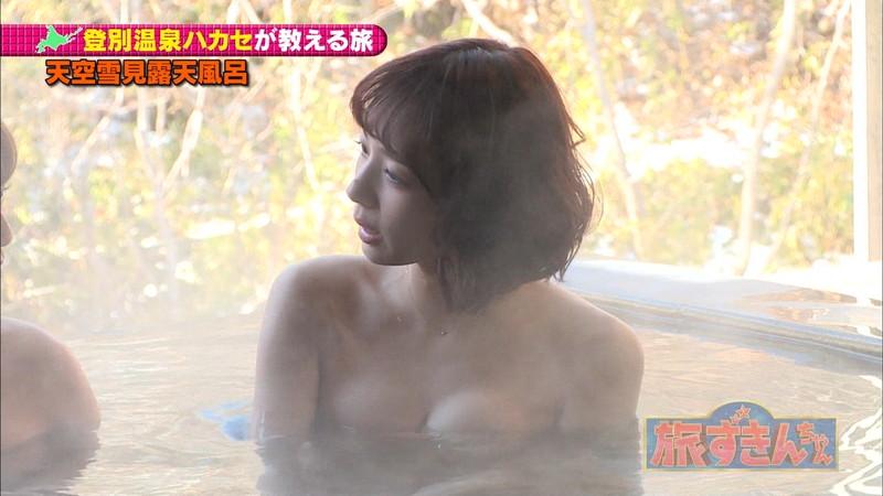 【岡田紗佳キャプ画像】モデル並みの長身ボディがエロい女流プロ雀士 65