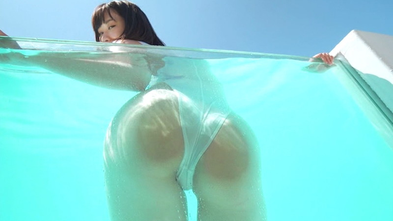 【鹿キャプ画像】珍しい芸名のグラビアアイドルがファーストDVDデビューした! 11