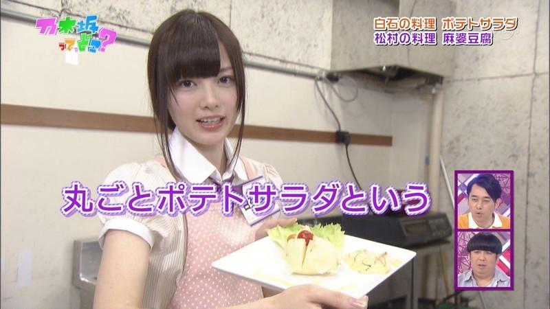 【白石麻衣キャプ画像】乃木坂46を卒業したセンターアイドルのお宝出演シーン 16