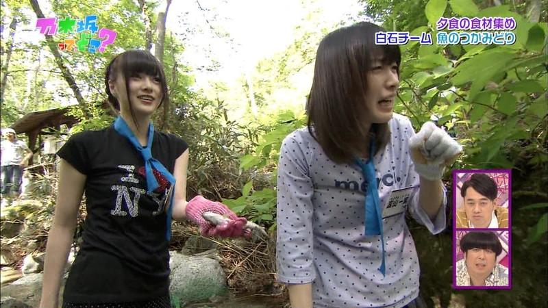 【白石麻衣キャプ画像】乃木坂46を卒業したセンターアイドルのお宝出演シーン 18