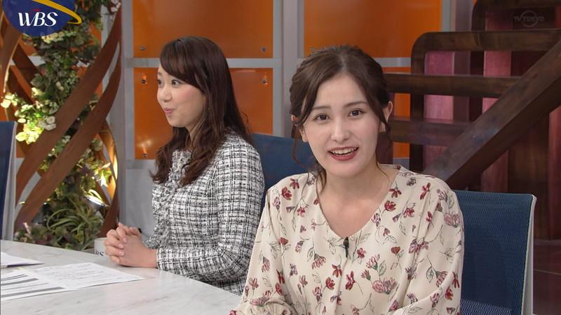 【池谷実悠キャプ画像】ハーフ系の顔立ちが綺麗な女子アナのニット越しオッパイ! 26