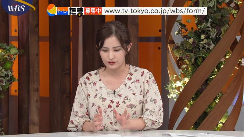 【池谷実悠キャプ画像】ハーフ系の顔立ちが綺麗な女子アナのニット越しオッパイ! 28