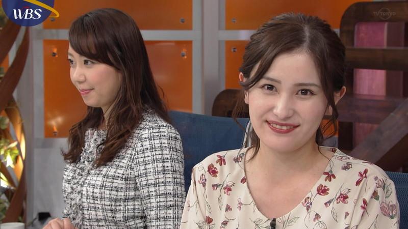 【池谷実悠キャプ画像】ハーフ系の顔立ちが綺麗な女子アナのニット越しオッパイ! 29
