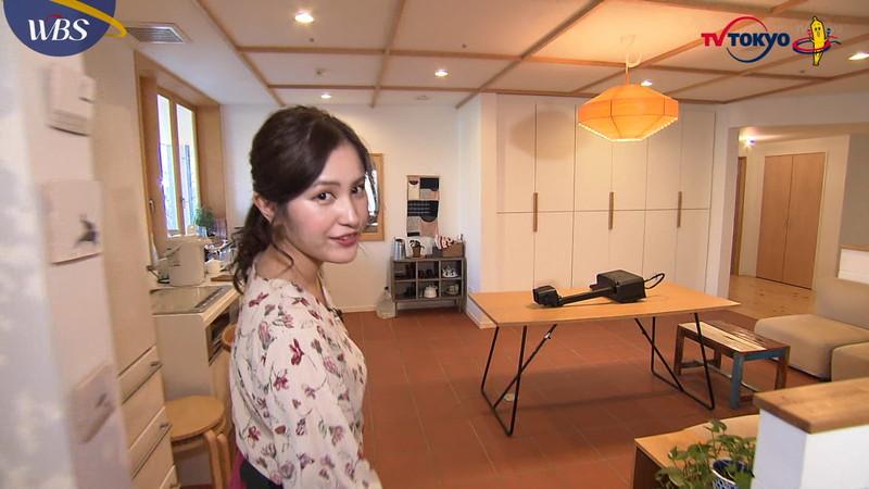 【池谷実悠キャプ画像】ハーフ系の顔立ちが綺麗な女子アナのニット越しオッパイ! 30