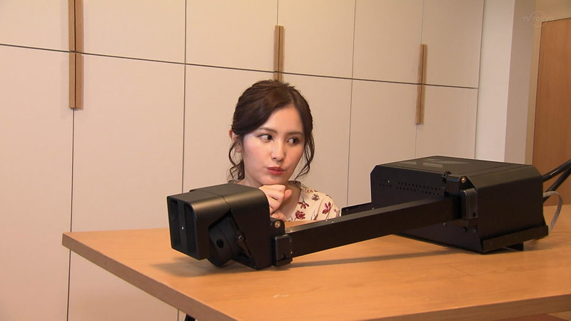 【池谷実悠キャプ画像】ハーフ系の顔立ちが綺麗な女子アナのニット越しオッパイ! 36