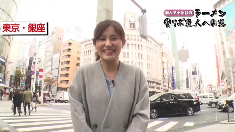 【池谷実悠キャプ画像】ハーフ系の顔立ちが綺麗な女子アナのニット越しオッパイ! 54