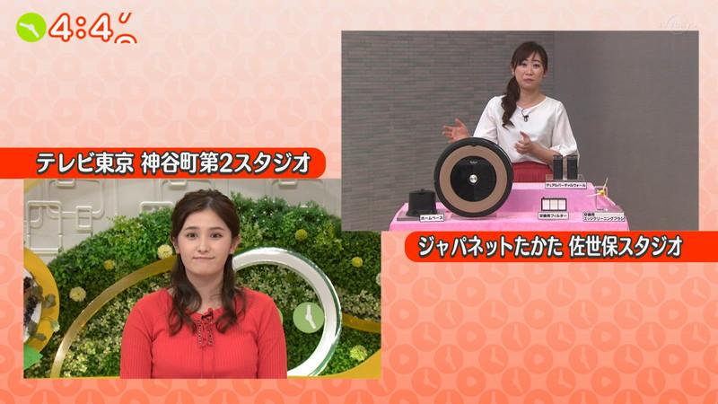 【池谷実悠キャプ画像】ハーフ系の顔立ちが綺麗な女子アナのニット越しオッパイ! 75