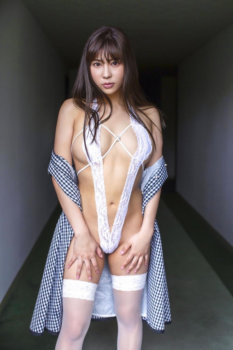 【水池愛香エロ画像】元アイドルで27歳になってからグラドルデビュー!? 80