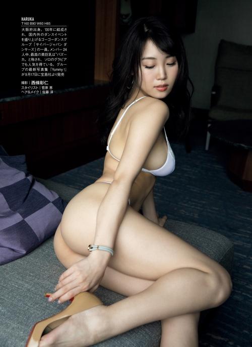 【HARUKAエロ画像】ギャル系ユニットに居るけど素顔は童顔系って感じで可愛いw 34