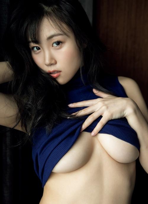 【HARUKAエロ画像】ギャル系ユニットに居るけど素顔は童顔系って感じで可愛いw 35