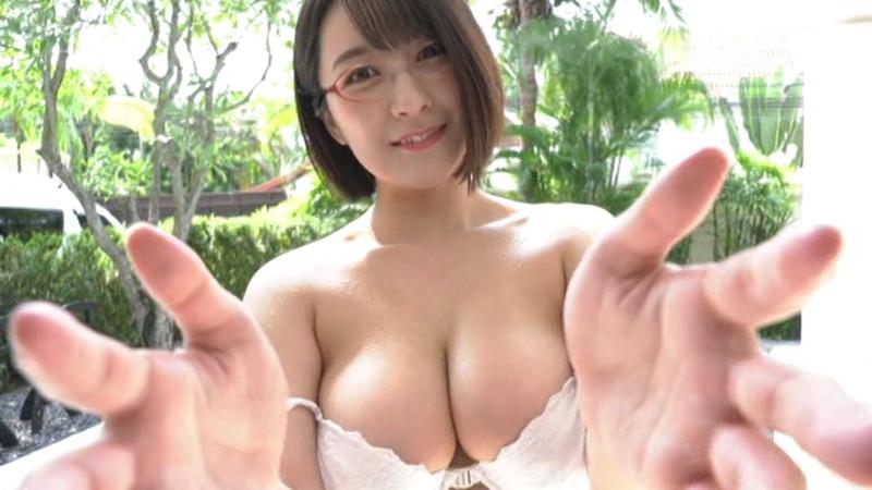 【紺野栞キャプ画像】ショートヘアにイメチェンして巨乳ボディに魅力が増した!