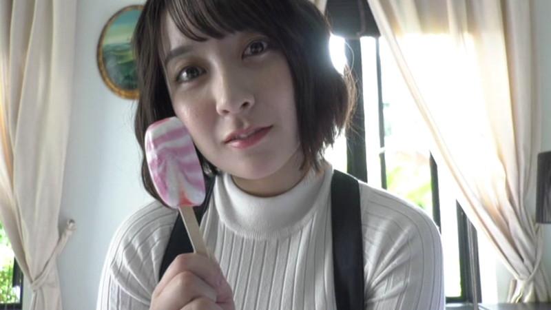 【紺野栞キャプ画像】ショートヘアにイメチェンして巨乳ボディに魅力が増した! 22