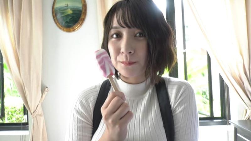 【紺野栞キャプ画像】ショートヘアにイメチェンして巨乳ボディに魅力が増した! 24