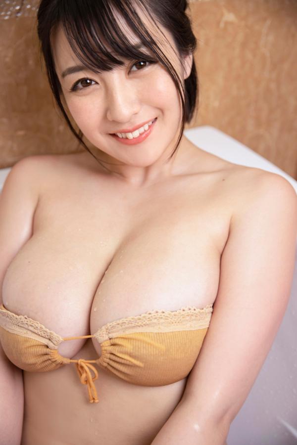 【紺野栞キャプ画像】ショートヘアにイメチェンして巨乳ボディに魅力が増した! 56
