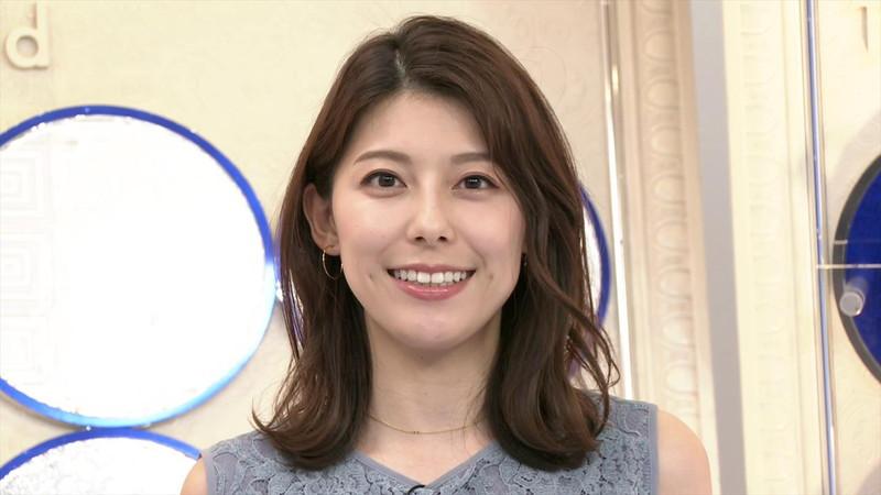 【上村彩子キャプ画像】ビール売り子の経験がある女子アナのノースリーブ姿など 19