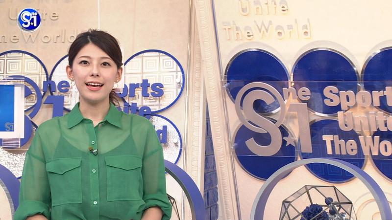 【上村彩子キャプ画像】ビール売り子の経験がある女子アナのノースリーブ姿など 44