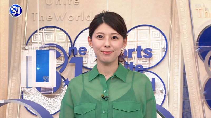 【上村彩子キャプ画像】ビール売り子の経験がある女子アナのノースリーブ姿など 45
