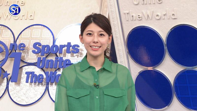 【上村彩子キャプ画像】ビール売り子の経験がある女子アナのノースリーブ姿など 47