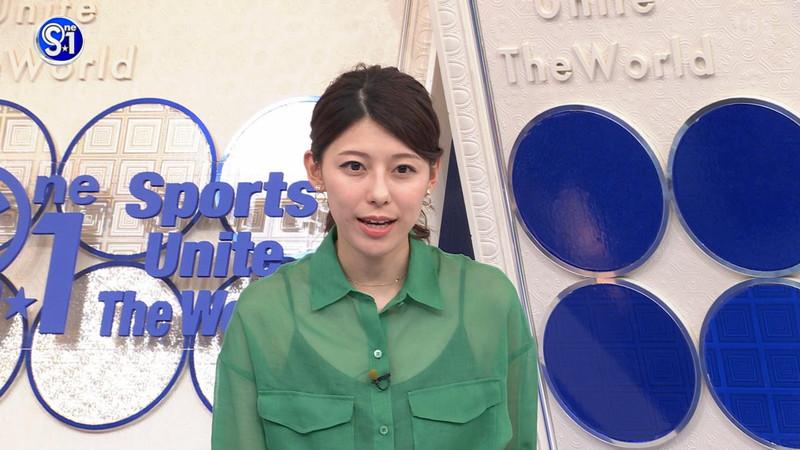 【上村彩子キャプ画像】ビール売り子の経験がある女子アナのノースリーブ姿など 48