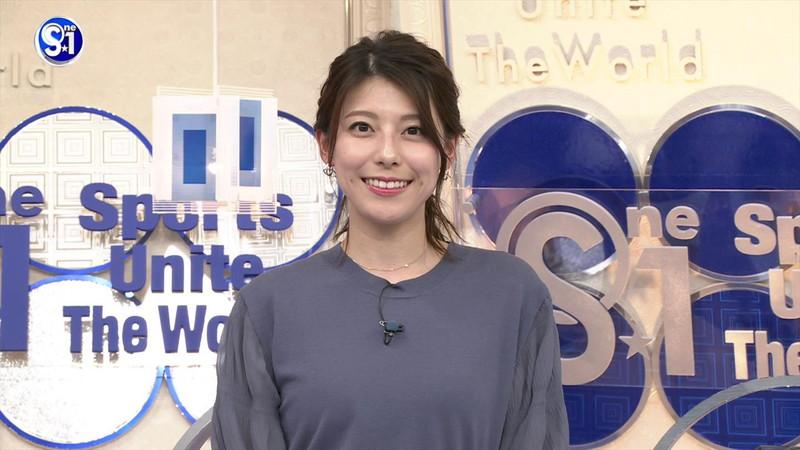 【上村彩子キャプ画像】ビール売り子の経験がある女子アナのノースリーブ姿など 60