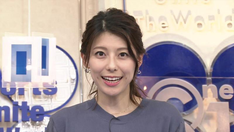 【上村彩子キャプ画像】ビール売り子の経験がある女子アナのノースリーブ姿など 61